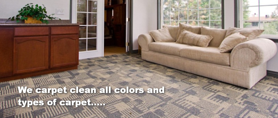 all carpets types and colors cleaned