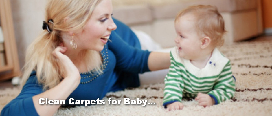 cleaner carpets for baby